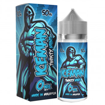 Twisty Mint (25ml) Plus e Liquid by Iceman