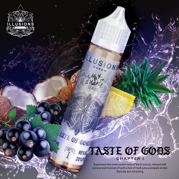 Taste of Gods (50ml) Plus e Liquid by Illusion Vapor