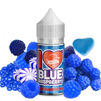 I Love Candy Blue Raspberry 30ml by Mad Hatter Juice