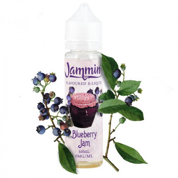 Blueberry Jam (50ml) Plus e Liquid by Jammin