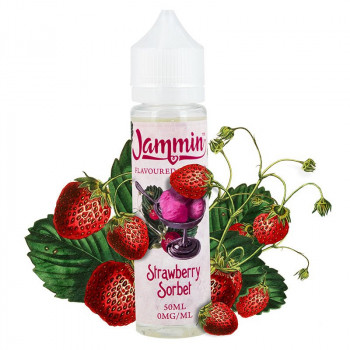 Strawberry Jam Sorbet (50ml) Plus e Liquid by Jammin