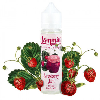 Strawberry Jam (50ml) Plus e Liquid by Jammin