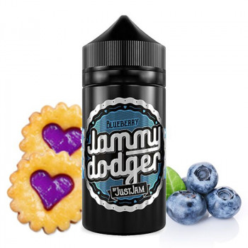 Jammy Dodger Blueberry (80ml) Plus e Liquid by Just Jam