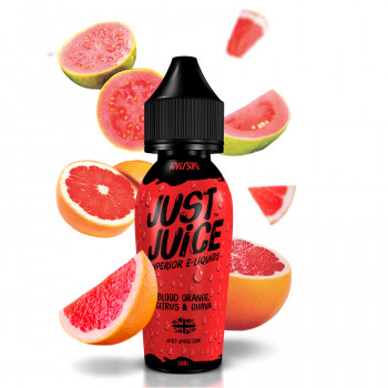 Blood Orange Citrus & Guava (50ml) Plus e Liquid by Just Juice
