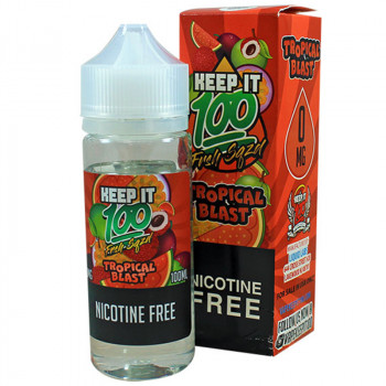 Frsh Sqzd Tropical Blast (100ml) Plus e Liquid by Keep it