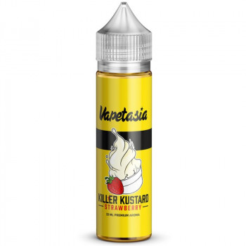 Killer Kustard Strawberry 15ml Bottlefill Aroma by Vapetasia