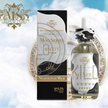 Neapolitan Milk (50ml) Plus e Liquid by Kilo Moo Series