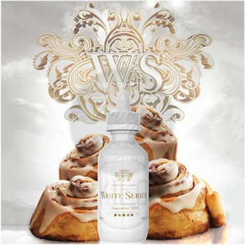 Cinnamon Roll (50ml) Plus e Liquid by Kilo White Series