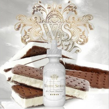 Ice Cream Sandwich (50ml) Plus e Liquid by Kilo White Series