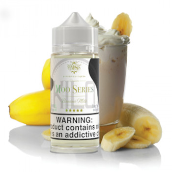 Banana Milk 100ml Shortfill Liquid by Kilo Moo Serie