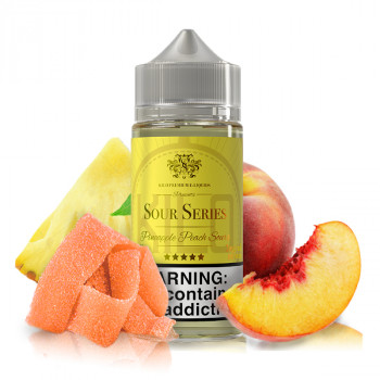 Pineapple Peach Sours 100ml Shortfill Liquid by Kilo
