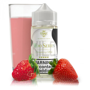 Strawberry Milk 100ml Shortfill Liquid by Kilo Moo Serie