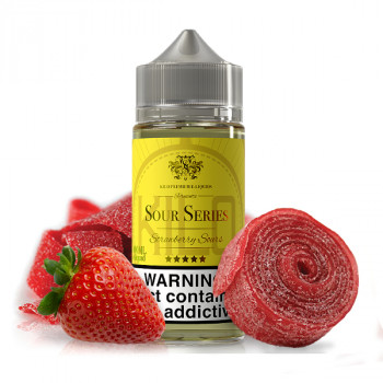 Strawberry Sours 100ml Shortfill Liquid by Kilo