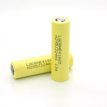 LG ICR 18650-HE4 - 2500mAh 3,6V - 3,7V (20A) Lithium Akku