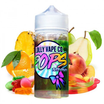 Tutti Fruity (80ml) Plus e Liquid Lolly Vape