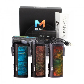 LostVape Mirage DNA 75C Box Mod Akkuträger