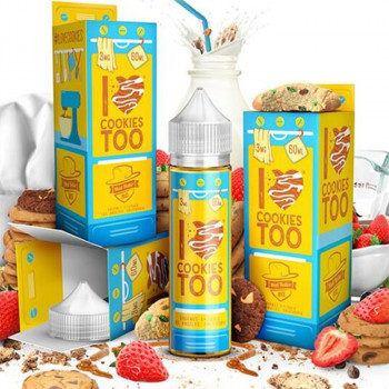 I Love Cookies Too (50ml) e Liquid Plus by Mad Hatter Juice