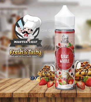 Berry Waffle (50ml) Plus e Liquid by Master Chef
