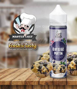 Blueberry Muffin (50ml) Plus e Liquid by Master Chef