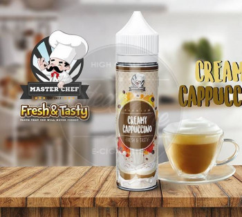 Creamy Cappuccino (50ml) Plus e Liquid by Master Chef