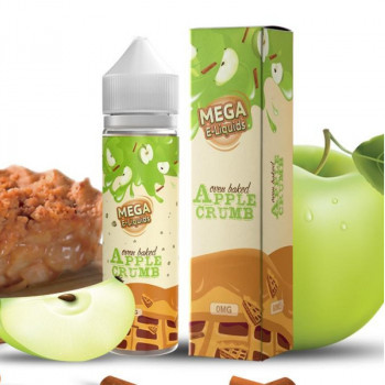 Apple Crumb (50ml) Plus e Liquid by MEGA Verdict Vapors