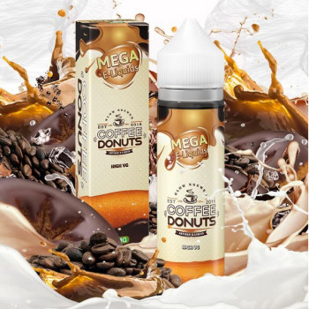 Coffee Donuts (50ml) Plus e Liquid by MEGA Verdict Vapors