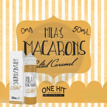 Salted Caramel (50ml) Plus e Liquid by Mila's Macarons