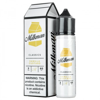 Vanilla Custard (50ml) Plus e Liquid by The Milkman