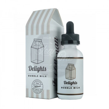 Bubble Milk (50ml) Plus e Liquid by Milkam Delights
