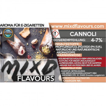 MIXD Flavours Aroma 10ml / Cannoli