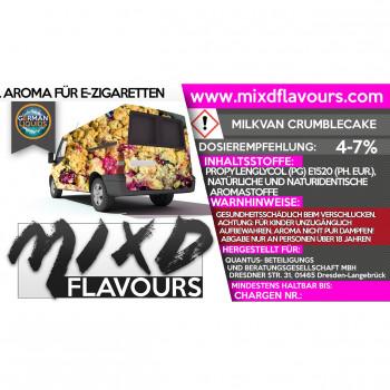 MIXD Flavours Aroma 10ml / Milkvan Crumblecake
