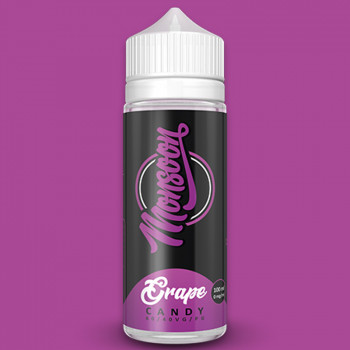 Monsoon Grape Candy (100ml) Plus e Liquid by Parovo