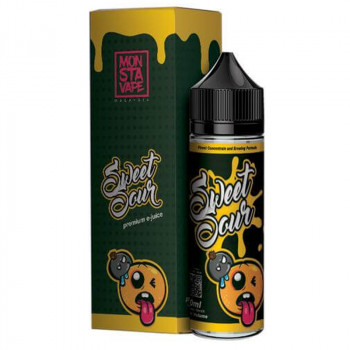 Sweet Sour (50ml) Plus e Liquid by Monsta Vape