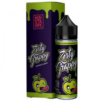 Zesty Grappy (50ml) Plus e Liquid by Monsta Vape