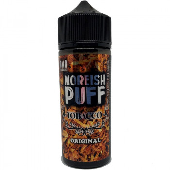 Original Tobacco (100ml) Plus e Liquid by Moreish Puff