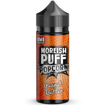 Popcorn Peanut Butter (100ml) Plus e Liquid by Moreish Puff