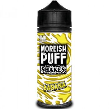 Shakes Banana (100ml) Plus e Liquid by Moreish Puff