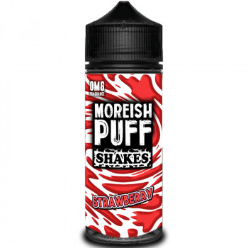 Shakes Strawberry (100ml) Plus e Liquid by Moreish Puff