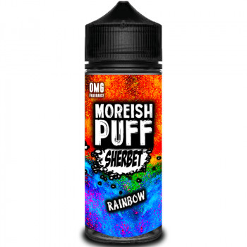 Sherbet Rainbow (100ml) Plus e Liquid by Moreish Puff