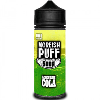 Soda Lemon Lime Cola (100ml) Plus e Liquid by Moreish Puff