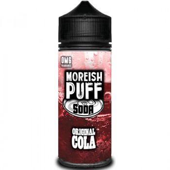 Soda Original Cola (100ml) Plus e Liquid by Moreish Puff