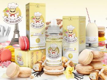 Vanilla Marshmallow (50ml) Plus e Liquid by Mr. Macaron