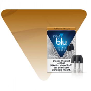 Tobacco 18mg NicSalt INTENSE TOUCH Serie MYBLU (2er Pack) Liquidpods