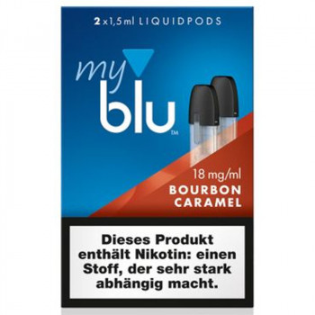 VON ERL. MY./MYBLU BourbonCaramel (2er Pack) Liquidpods