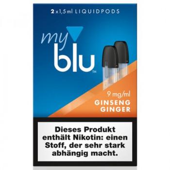 VON ERL. MY./MYBLU GinsengGinger (2er Pack) Liquidpods