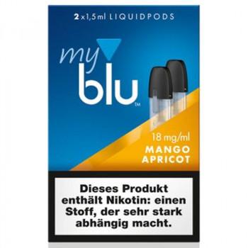 VON ERL. MY./MYBLU MangoApricot (2er Pack) Liquidpods