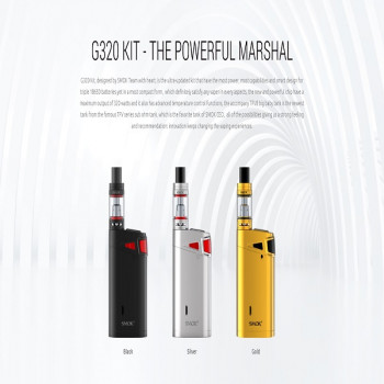 SMOK Marshal G320 320W TC Kit inkl. TFV8 Big Baby