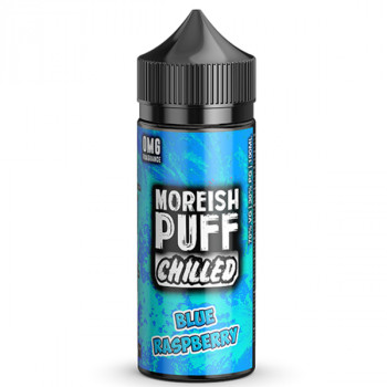 Chilled Blue Raspberry 100ml Shortfill Liquids by Moreish Puff