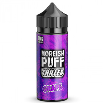 Chilled Grape 100ml Shortfill Liquids by Moreish Puff