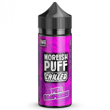 Pink Raspberry 100ml Shortfill Liquids by Moreish Puff